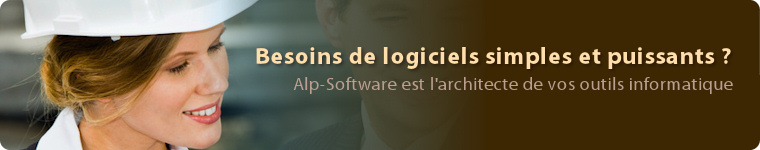 Alp-Software, l'architecte de vos outils informatique